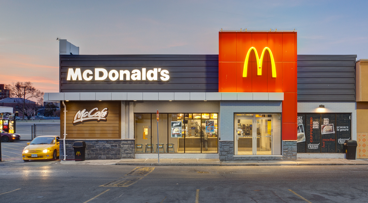 McDonald's restaurants are found in countries and territories around the world and serve 68 million customers each day. McDonald's operates 36, restaurants worldwide, employing more than , people as of the end of